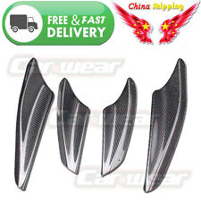 for 08-14 Mitsubishi Lancer EVO X 10 Carbon Fiber Front Bumper Canards Splitters