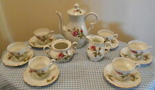 VINTAGE 16 PC TEA SET ACME CHINA - MADE IN JAPAN - MOSS ROSE