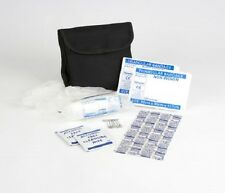 1 Person HSE Travel / Off Site / Lone Worker First Aid Kit in Black Belt Pouch