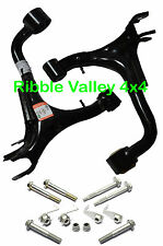 LAND ROVER DISCOVERY 3  RH LH REAR UPPER SUSPENSION ARMS WISHBONES + BOLT KITS