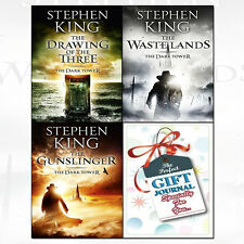 Dark Tower Series 3 Books Collection With Journal Set By Stephen King Gunslinger