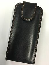 Sony Ericsson Vivaz U5a, U5i Kurara Fitted Leather Flip Wallet Case ALC654 B/New