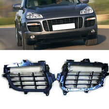 For Porsche Cayenne GTS/TURBO 4.8T 2007-10 Front Left+Right Air-Inlet Grille 2pc