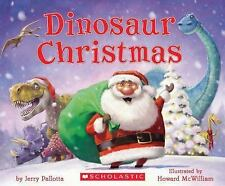 Dinosaur Christmas by Jerry Pallotta (2013, Hardcover)