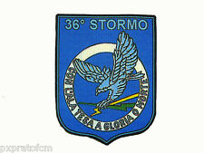 Patch 36° Stormo Aeronautica Militare Italiana Caccia con Eurofighter Typhoon