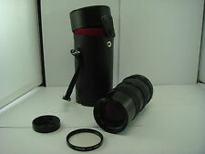 Tamron Zoom Macro 70-150mm 1:3.5 f Lens - Fujica Screw Mount -with Case + Filter