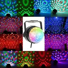 HOT ROTATING LED RGB CRYSTAL BALL STAGE LIGHT DISCO KTV PARTY LASER LIGHTBB 07QW