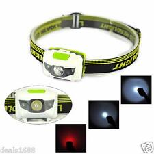 300LM R3 2LED Mini Headlight Headlamp Flashlight 4 Mode Super Bright Torch Light