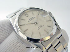 Classic Vintage Rolex Tudor Prince OysterDate Automatic (Quick-set) Steel Watch
