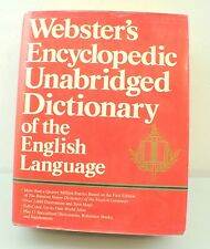 Webster's Encyclopedia Unabridge Dictionary of The English Language 1989