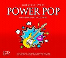 Power pop-Greatest Ever feat. Blink 182, Blondie, 10cc, entre autres, 3 CD NEUF