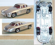 MICRO MINI EXACTS MONOGRAM HO 1/87 MERCEDES-BENZ GULLWING 300 SL 1950 GRIS METAL