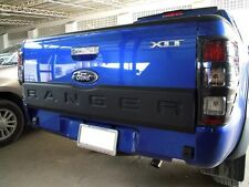 REAR GATE COVER PAINTED FOR FORD RANGER T6 2012 - 2014