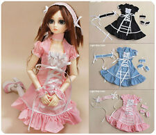 1/3 bjd SD13/SD10 Girl Doll pink color dress set super dollfie Luts DZ #SEN-21L