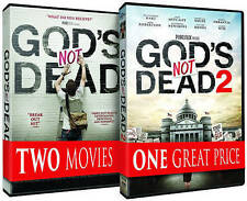 Gods Not Dead/Gods Not Dead 2 (DVD, 2016, 2-Disc Set) BRAND NEW DVD SEALED