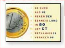 HOL9901 The introduction of the Euro, the new coin 1 pc