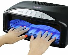 Acrylic Nail Dryer Curing UV Lamp Light 54W Black Professional Salon Home New