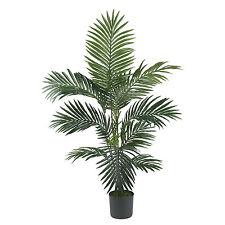 4FT Silk Kentia Palm Tree Artificial Faux Decor Office Home Indoor Plant