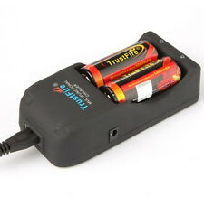 TrustFire Multi Charger & 2 x 3.7V 5000mAh 26650 Li-ion Batteries with PCB