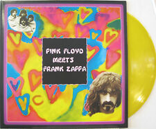 "FRANK ZAPPA ""PINK FLOYD MEETS FRANK ZAPPA""  rare lp yellow vinyl unplayed"