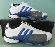 Nib~Adidas Golf~POWERBAND GRIP ZONE Climaproof cleats Traxion Shoes~Mens size 10