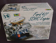 REVELL FORD 427 SOHC ENGINE MODEL KIT 2005 NEW IN BOX1:6 SCALE