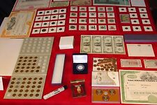 INCREDIBLE!!!    ~ US COIN COLLECTION LOT ~ GOLD ~ SILVER ~ MORE~ ESTATE SALE!!!