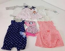 NWT LOT OF 11 BABY GIRL CLOTHES 6M