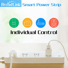 Broadlink MP1 Smart Home Wifi Timing Plug Power Strip 4 Ports Individual Wireles