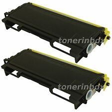 2 Pack TN350 TN-350 Toner Cartridge For Brother HL-2030 HL-2040 HL-2070N Printer