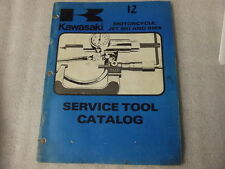 KAWASAKI  MOTORCYCLE, JET SKI AND BMX SERVICE TOOL CATALOG  99995-714-02   12