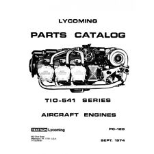 Lycoming Aircraft Engine Parts Catalog PC-120