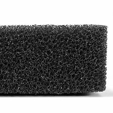 Filtration Foam Aquarium Fish Tank Filter Sponge P Black AD