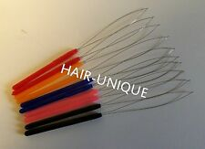 Micro Ring / Nano Ring Hair Extensions Plastic Pulling Loop Tool x 10  UK Stock