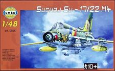 SUKHOI Su-22 M4 FITTER K (LUFTWAFFE, EAST GERMAN & SOVIET MKGS) 1/48 SMER
