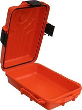 MTM Survivor Dry Box with O-Ring Seal, Color: Orange,Size:Small BRAND NEW (AOI)