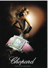 "Publicité Advertising 2006 La Montre Chopard ""Happy sport Collection"""