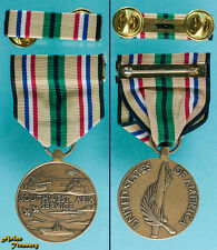 U.S. ARMED FORCE SOUTH WEST ASIA SERVICE MEDAL DESERT STORM GULF WAR FULL SIZE
