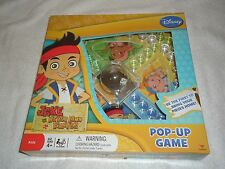 NEW DISNEY JAKE AND THE NEVERLAND PIRATES  POP UP GAME