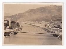 VERA FOTO DI TRENTO PONTE DI SAN LORENZO E CHIESA DI SANT'APOLLINARE 1920 C6-183