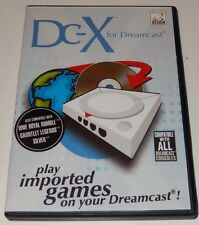 DC-X Play Japanese Imports Sega Dreamcast CIB Case Lot Complete / Tested