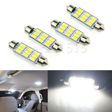 4PCS Festoon LED 44MM High Power 5630 9 SMD Pure White Map Cargo Dome Lights