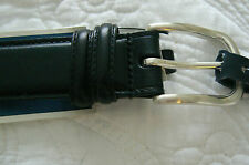RALPH LAUREN MEN'S BELT BLACK  LEATHER  SIZE 40  $55 RETAIL NWT