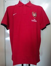 ARSENAL F.C.2013/14 AUTHENTIC RED POLO SHIRT BY NIKE ADULTS SIZE XL BRAND NEW