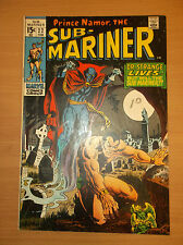 MARVEL: SUB-MARINER #22, 1ST APPEARANCE OF THE NAMELESS ONE/DR. STRANGE APP.!!