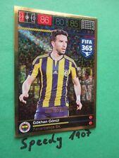 Panini Adrenalyn FIFA 365 Limited Edition Gökhan Gönül Fenerbahce Trading Card