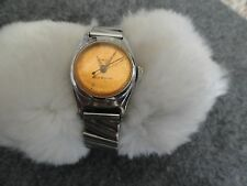 Vintage Timex by US Time Wind Up Shock Resistant Ladies Watch - Not Working