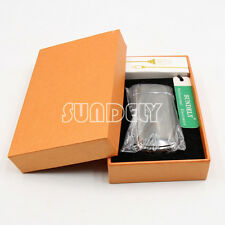 HIGH QUALITY Double-Faced Electric Arc Lighter USB Rechargeable Cigarette Black