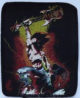 HEAVY METAL Power Vintage 1980`s Printed Sew On Patch
