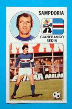 CALCIATORI PANINI 1976-77-Figurina-Sticker n. 259 - BEDIN - SAMPDORIA -Rec